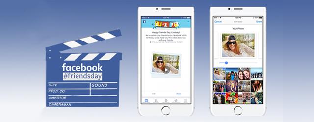 movie marker reads facebook #friendsday