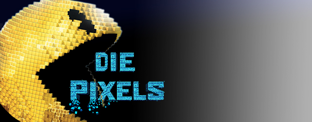 "pixel smiley face eats text ""die pixels"""