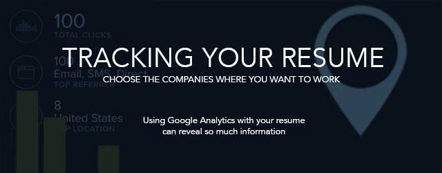 How to track your resume.