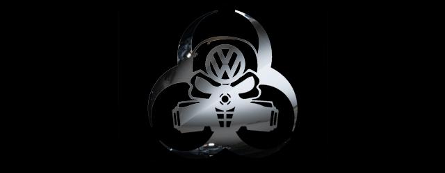 image of toxic volkswagen logo